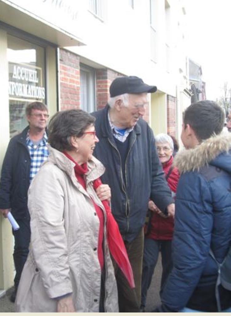 C'était le 25 avril 2016. A l'occasion du pèlerinage de la Paroisse de Martigues à Lisieux, rencontre avec un futur saint