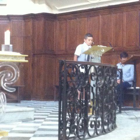 Communion de Matthias, Telmo, Bruno et Baptême de Emma, Lea, Luca