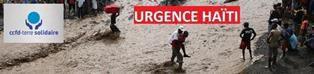 LE CCFD DE MARTIGUES LANCE UN APPEL POUR HAITI
