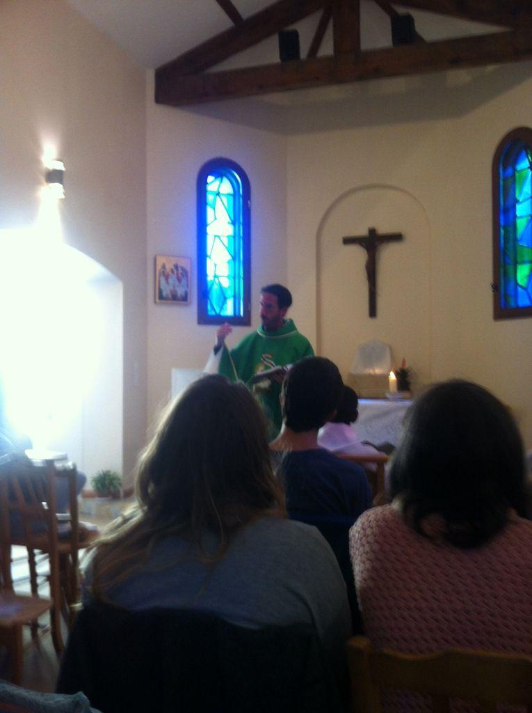Le camp c'est fini  ! Messe et visite chez les Petites Sœurs de Jésus au Tubet !