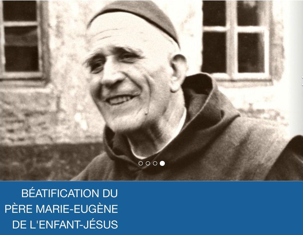 Messe de Béatification du Père Marie-Eugène de l'Enfant-Jésus en direct sur KTO depuis le Parc des expositions d'Avignon.