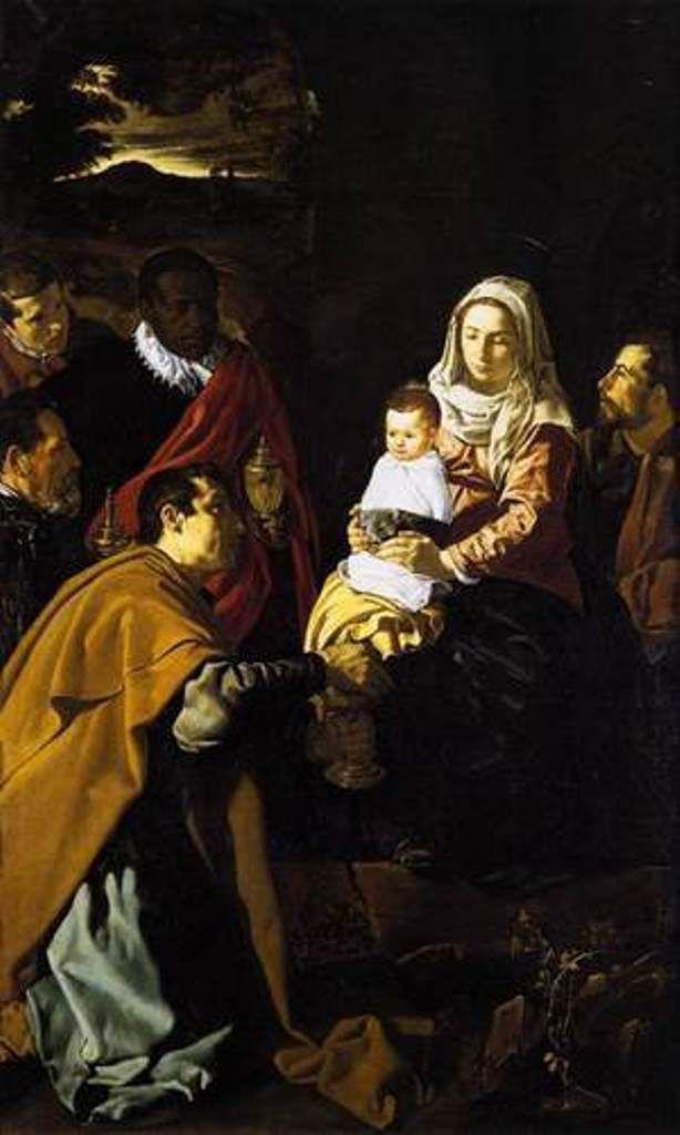 Adoration des Mages, Diego Velasquez, 1619 Musée du Prado, Madrid.
