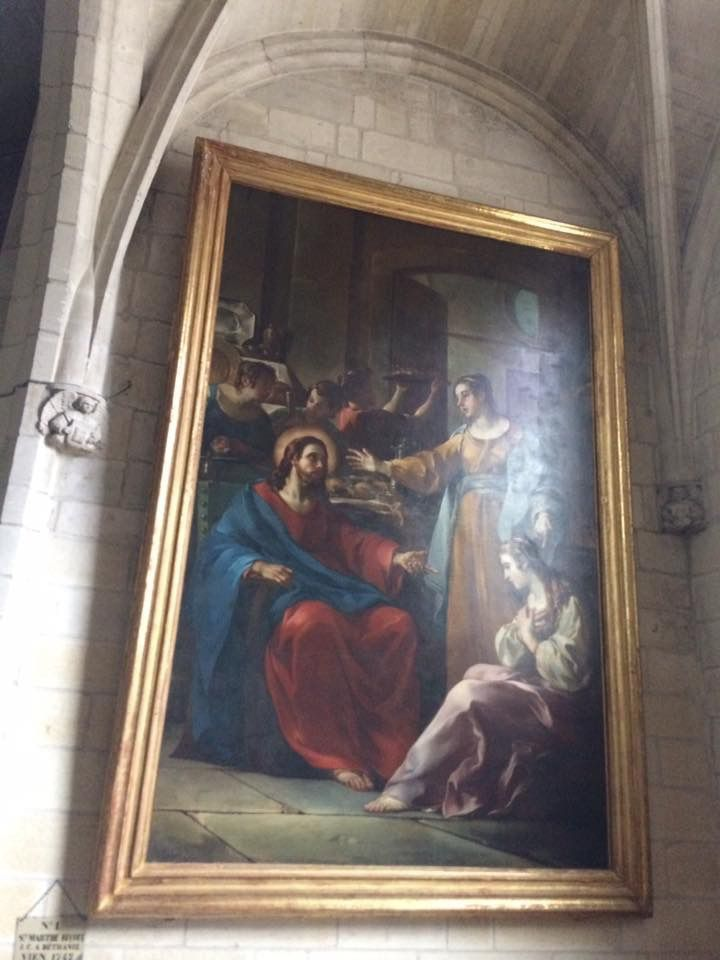 Enseignements du père Michel Savalli sur la vie de Sainte Marthe .