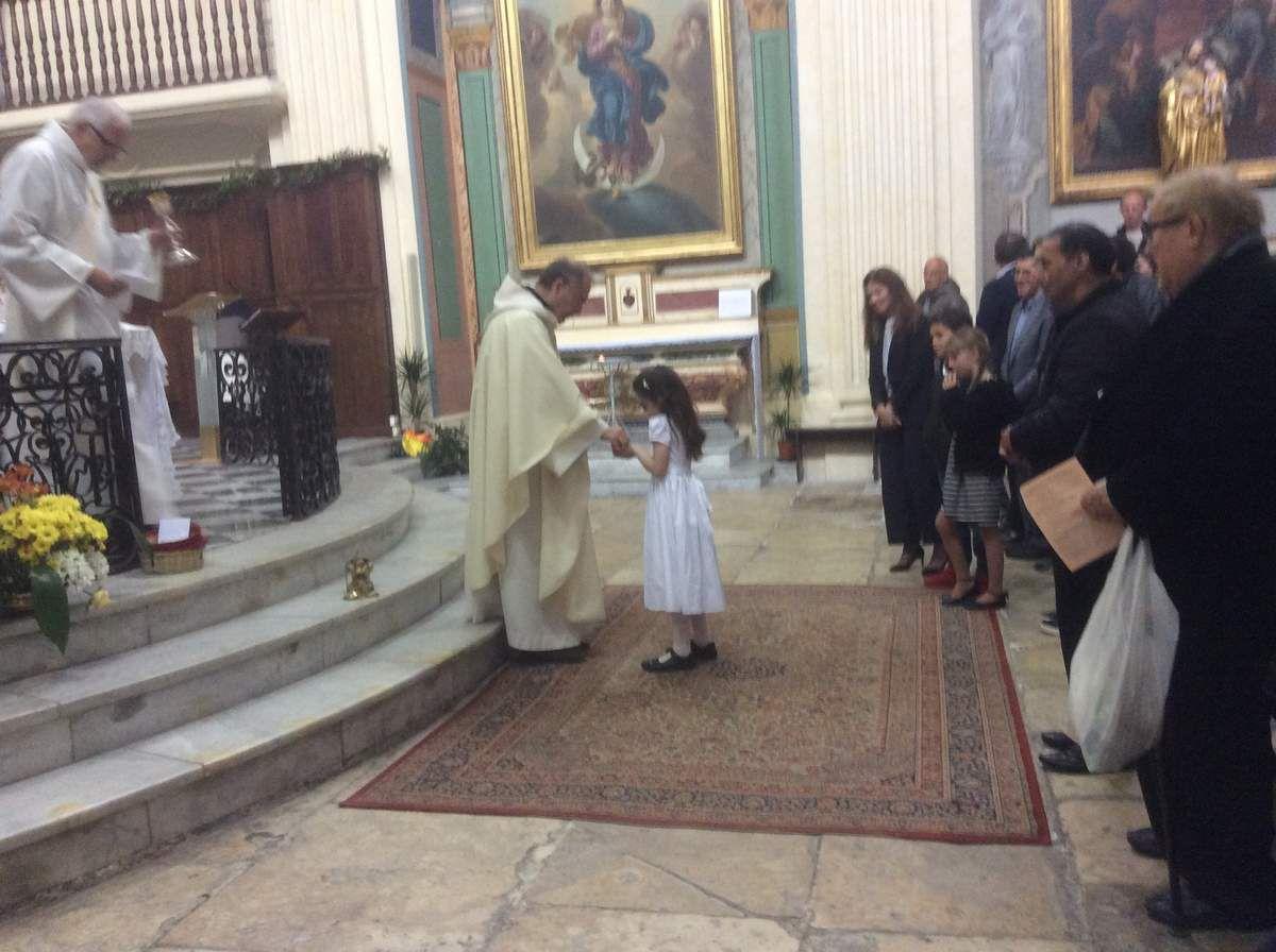 Première Communion de Sienna