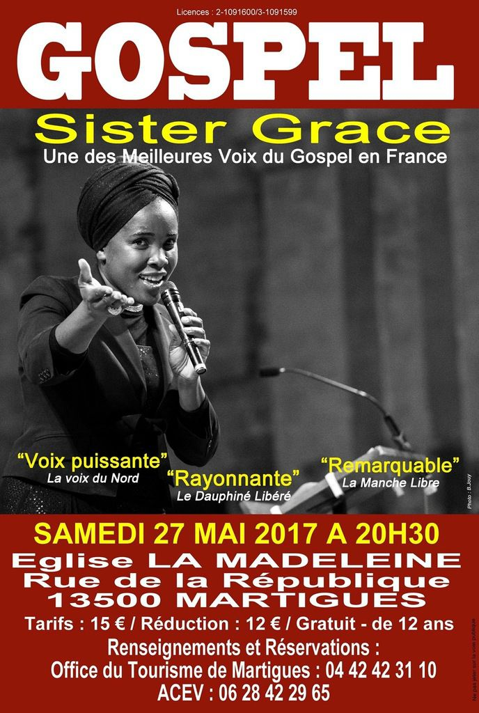 Église de La Madeleine samedi 27 mai à 20h30
