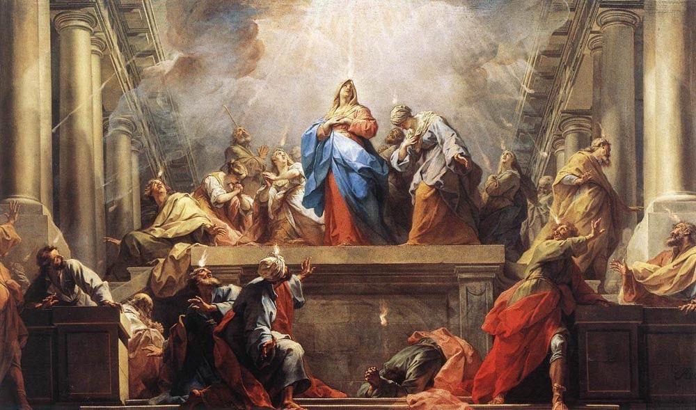 Homélie du Père Thierry-Joseph Beguin pour la Pentecôte