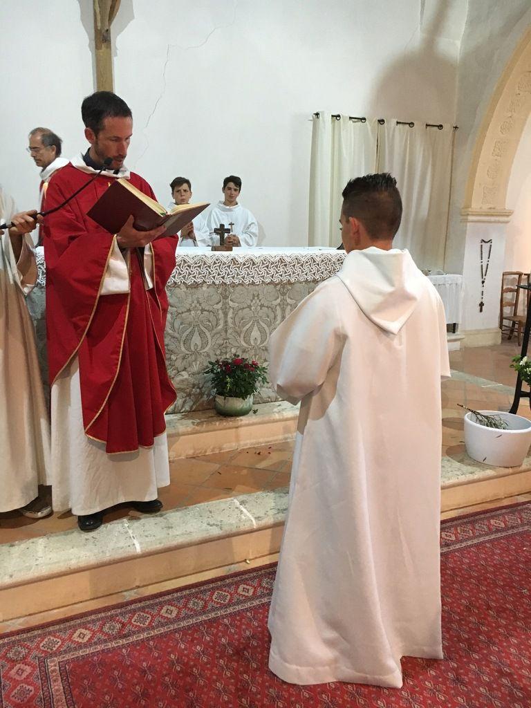 Profession de foi de Guillaume dimanche soir