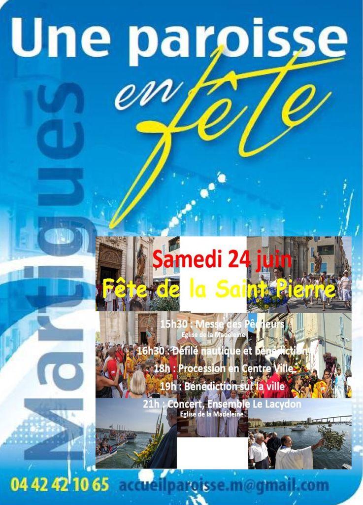 Fête de la Saint Pierre à Martigues samedi 24 juin