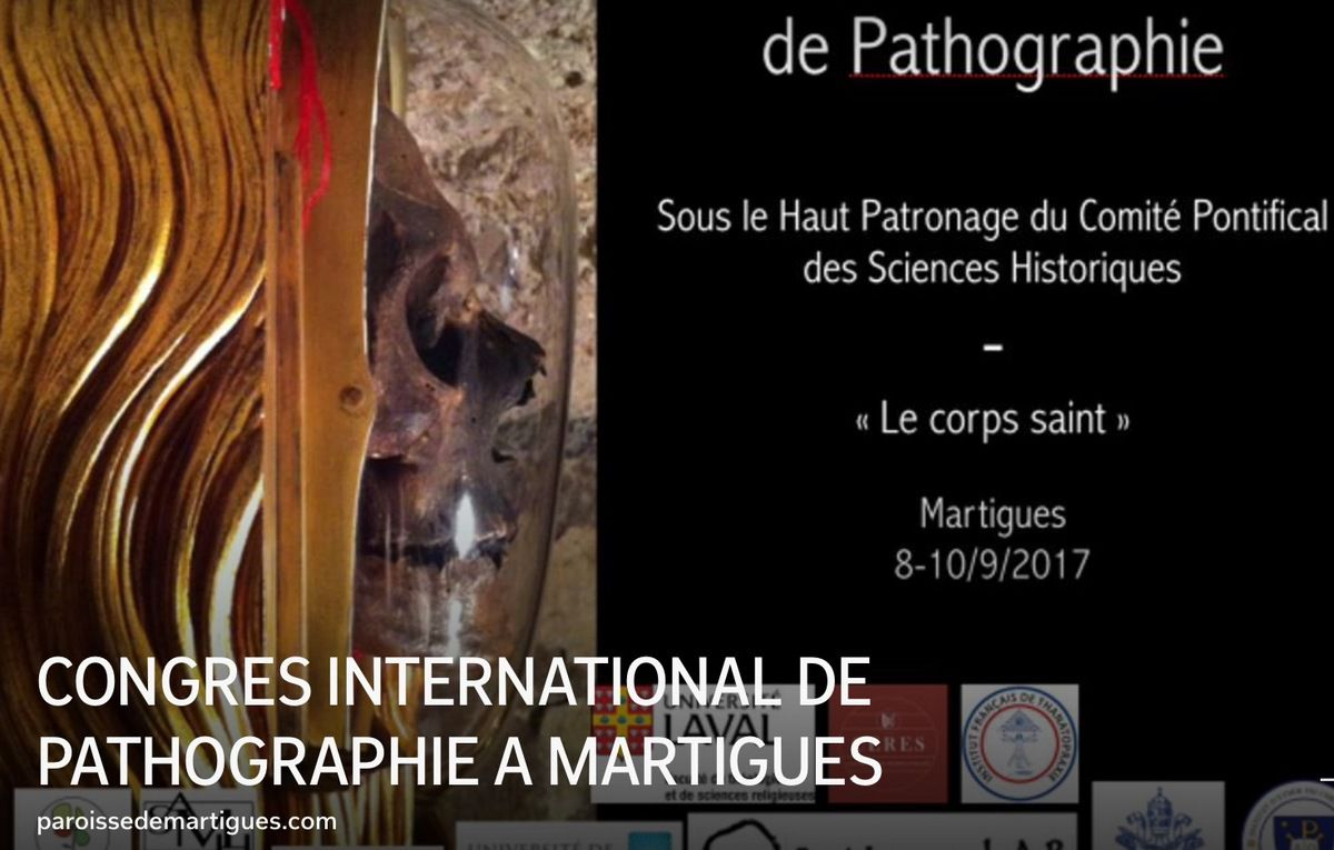 CONGRES INTERNATIONAL DE PATHOGRAPHIE A MARTIGUES