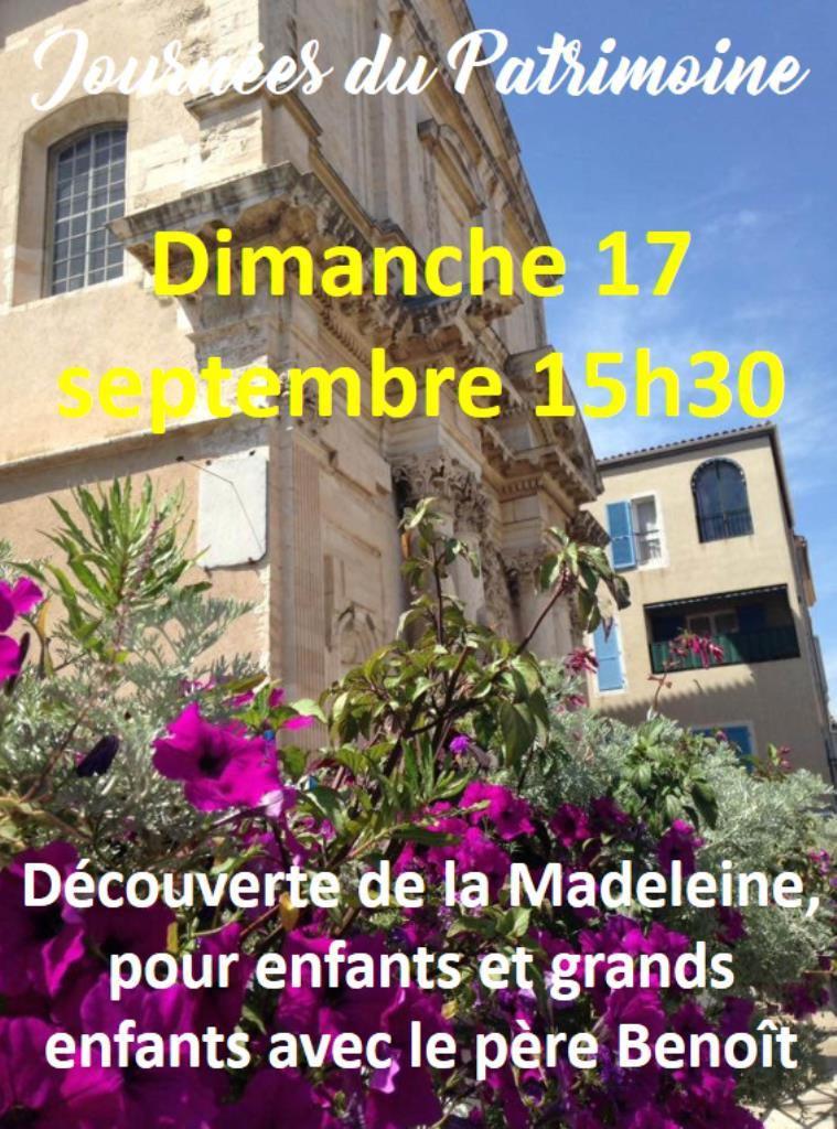 Venez faire découvrir la Madeleine à vos enfants ou petits-enfants !