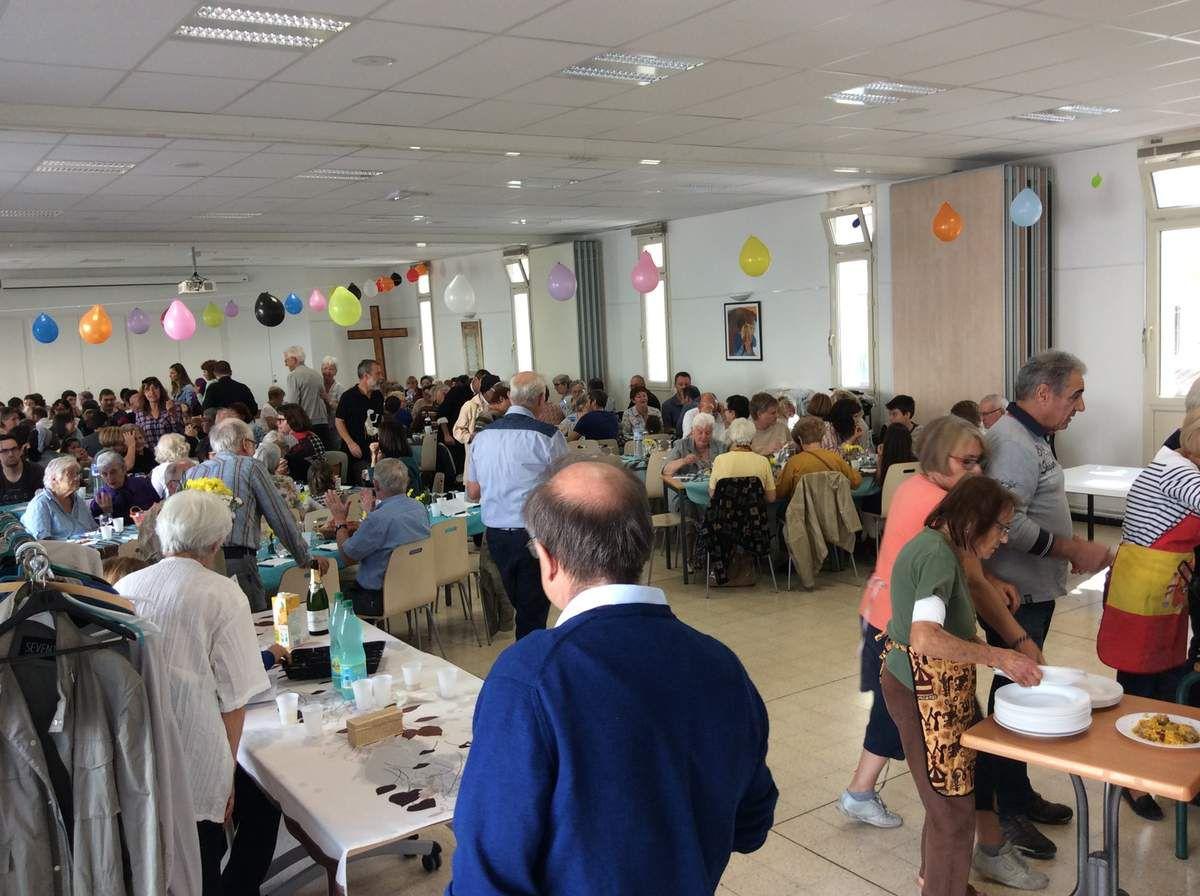 Fête de Saint François : repas festif et jeux