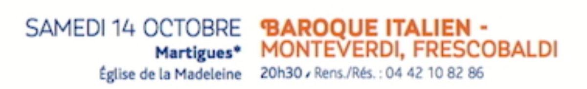 RÉPERTOIRE SACRÉ DU BAROQUE ITALIEN