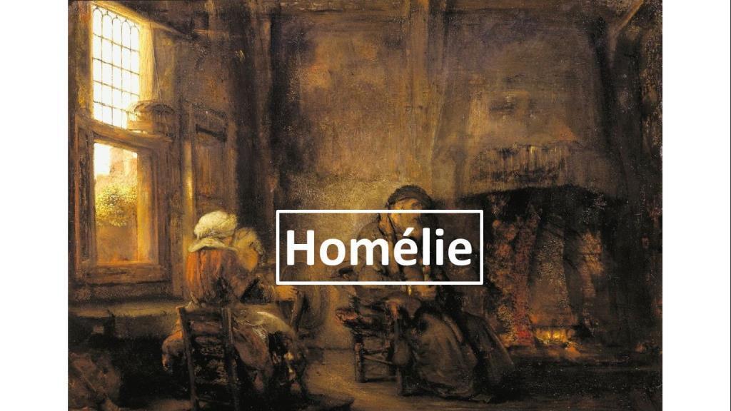 Homélie du Père Gilles-Marie Lecomte pour le Vingt Septième dimanche du Temps ordinaire