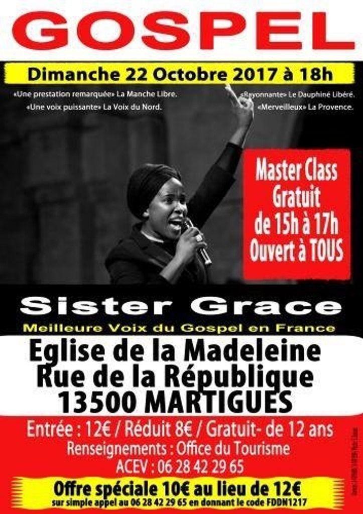 Dimanche 22 octobre à 18h, église de La Madeleine
