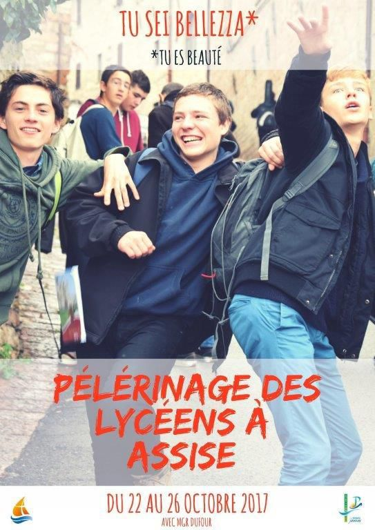 LES LYCÉENS DE MARTIGUES SONT PARTIS À ASSISE !