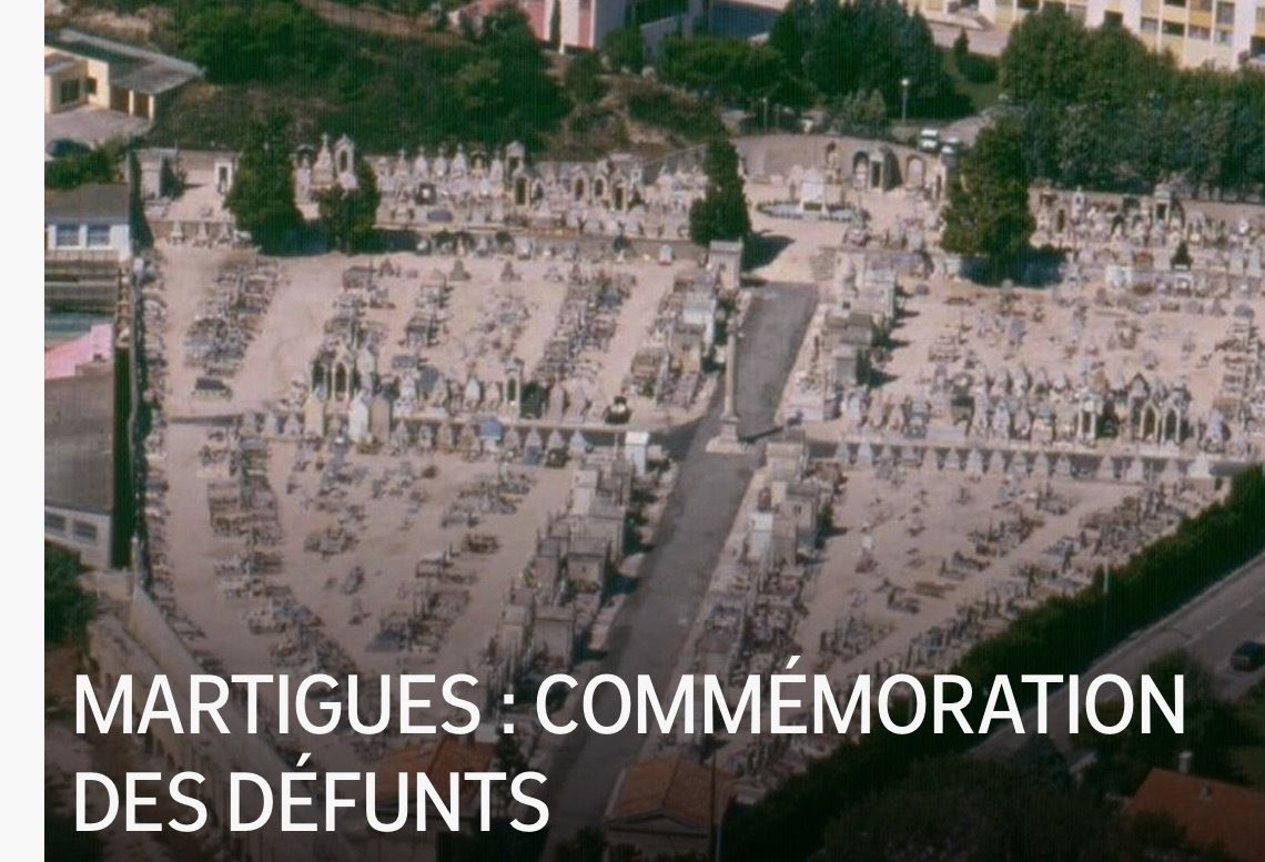MARTIGUES : COMMÉMORATION DES DÉFUNTS