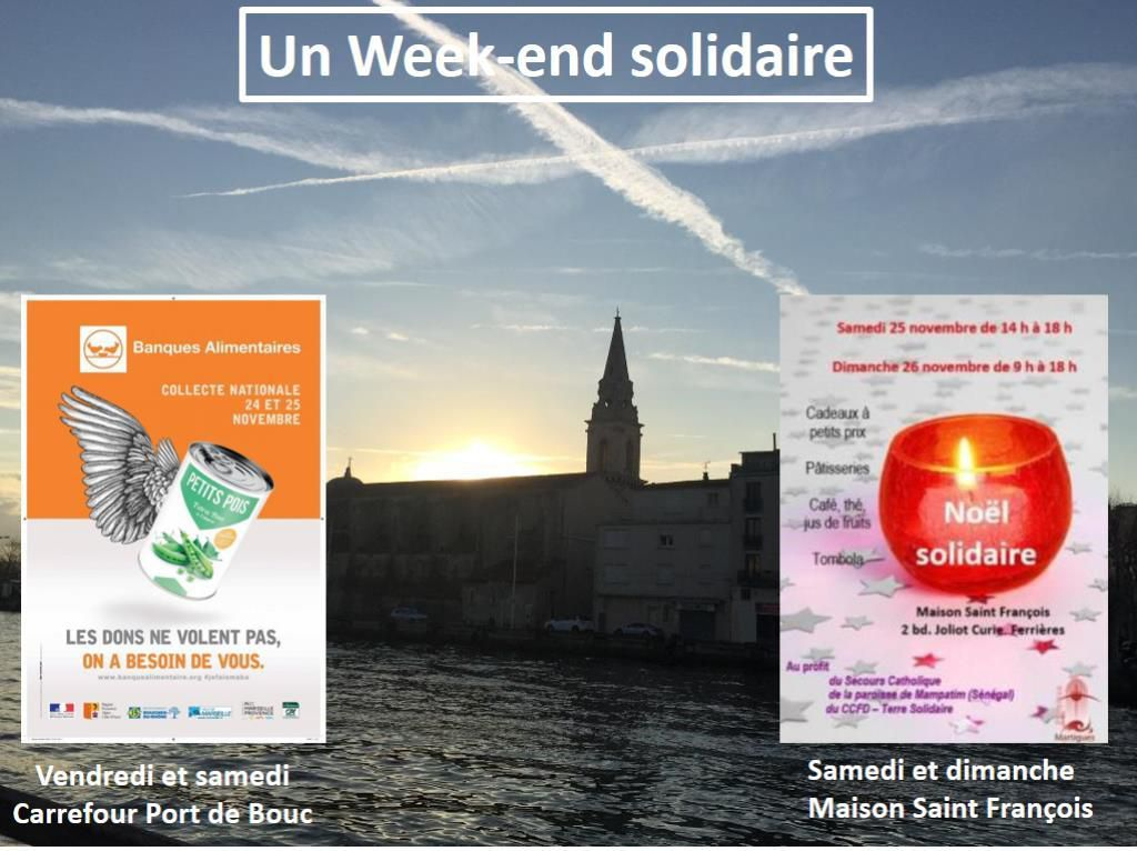 Les Photos du week-end de la solidarité à Martigues :