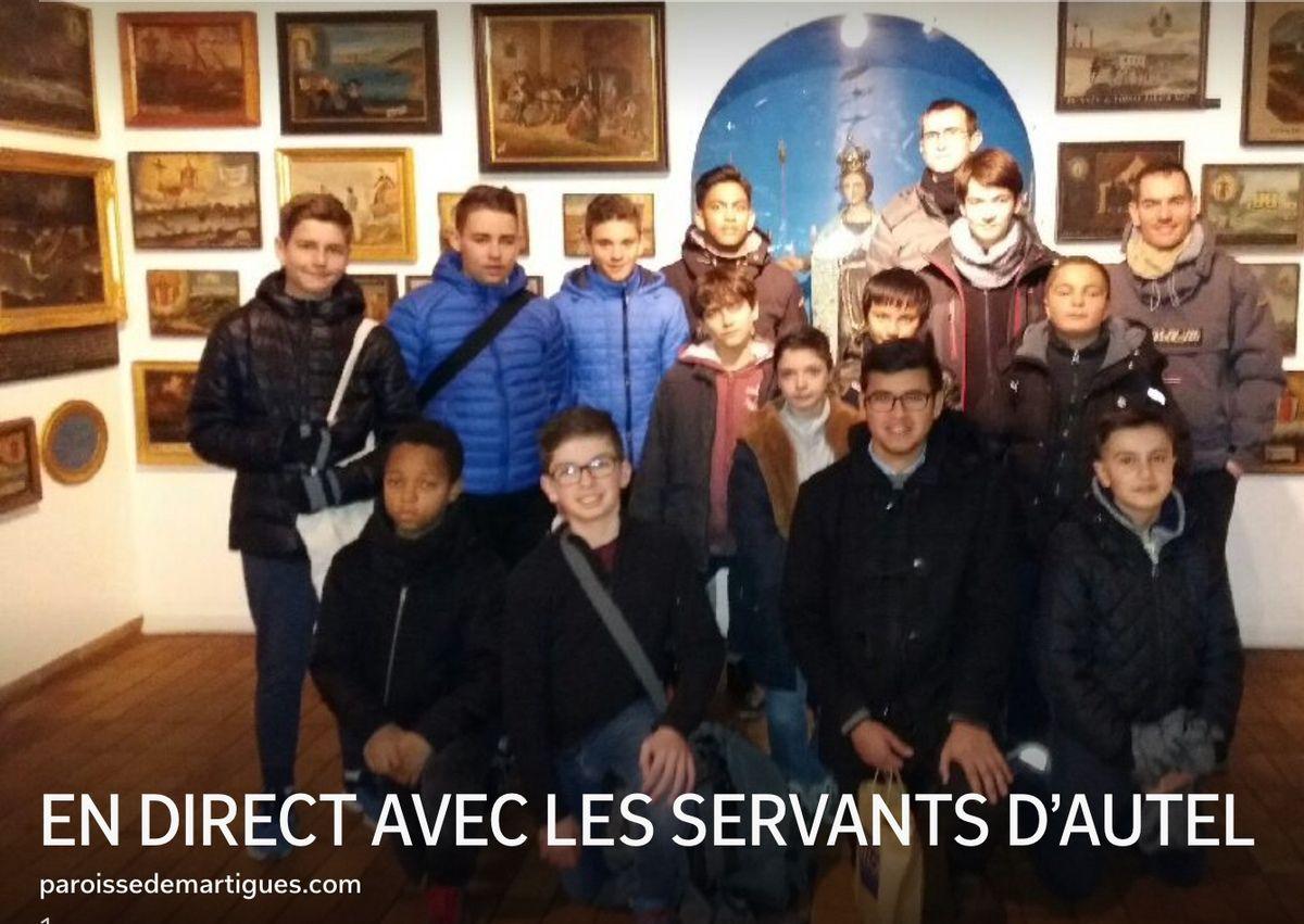 EN DIRECT AVEC LES SERVANTS D'AUTEL