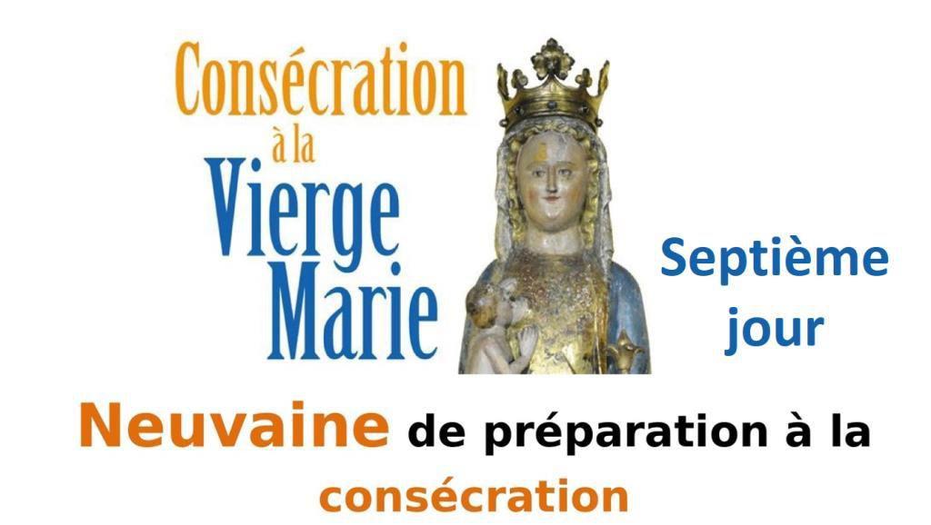 CONSÉCRATION À MARIE : SEPTIÈME JOUR