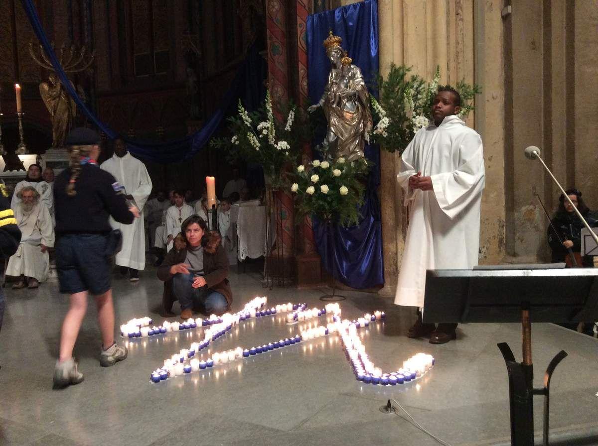 CONSÉCRATION DU DIOCÈSE À MARIE PAR MGR DUFOUR