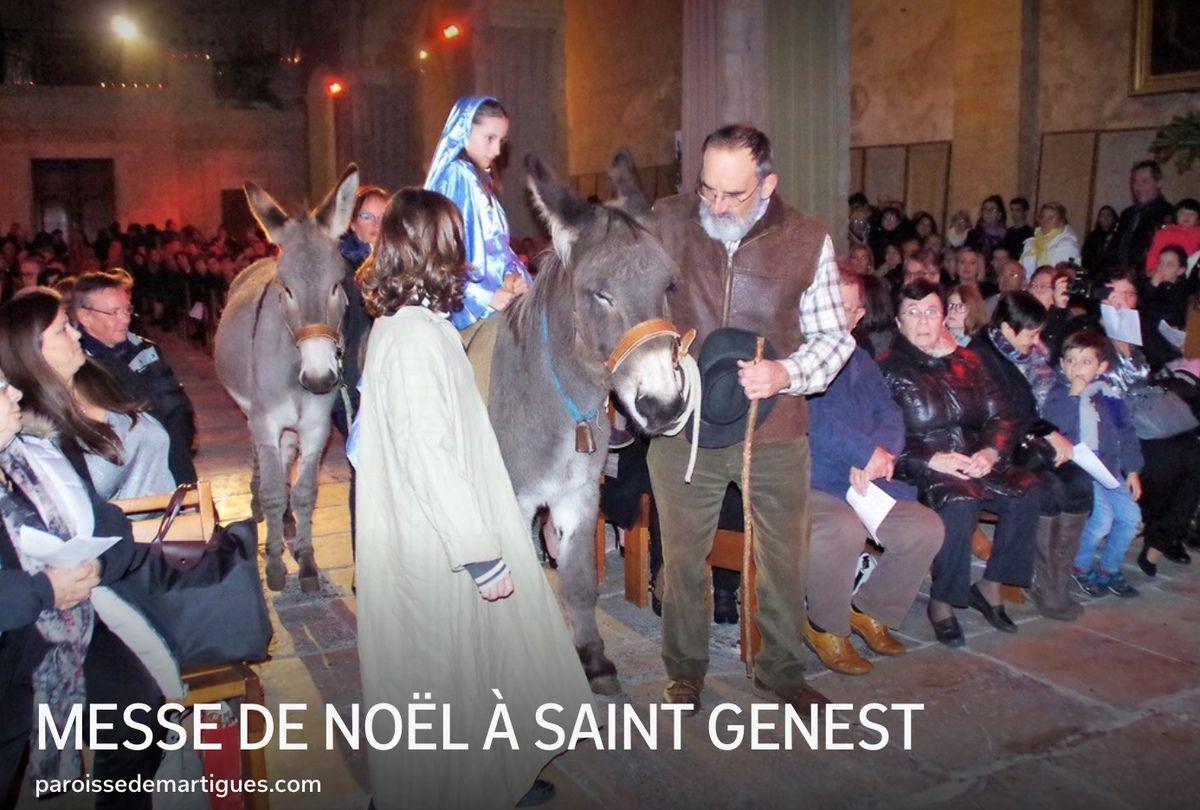 MESSE DE NOËL À SAINT GENEST