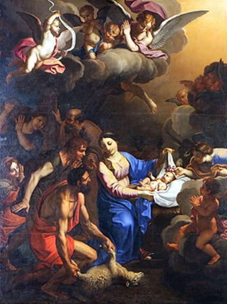 L'Adoration des bergers, Collégiale Saint-Agricol d'Avignon