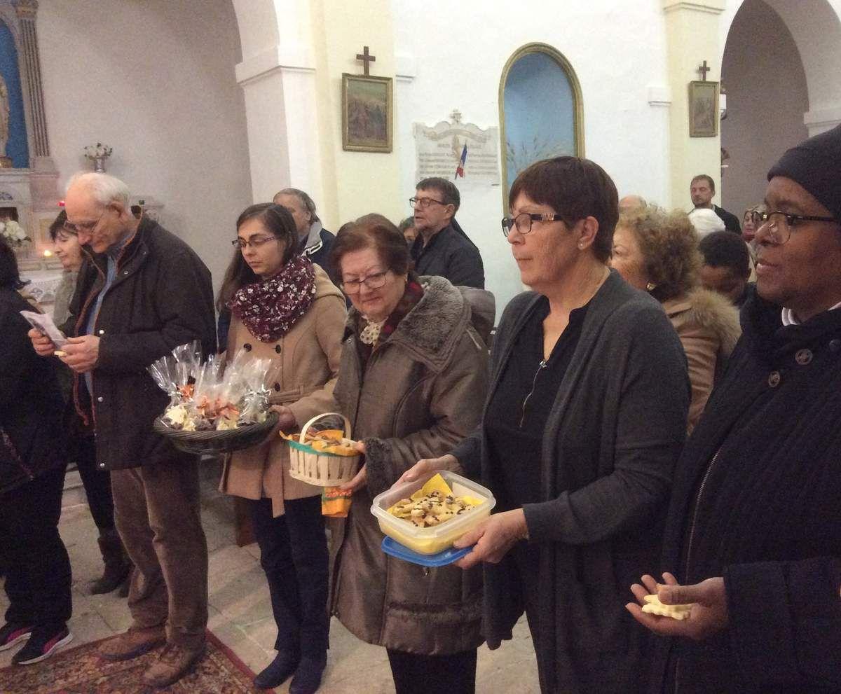 Diffusion en direct depuis l'église de Saint Julien