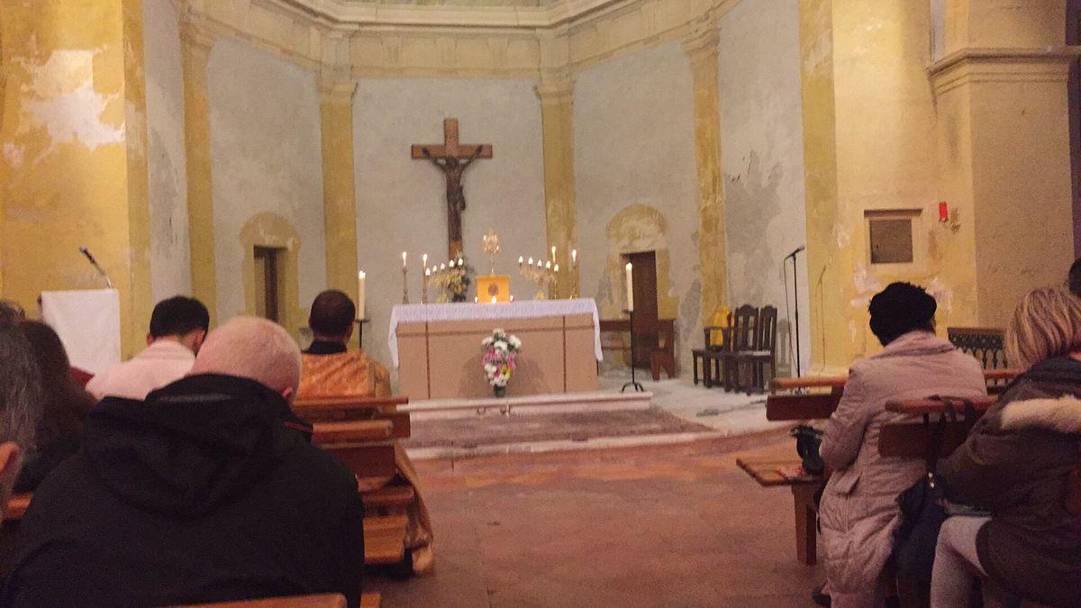 """Diffusion en direct depuis l'église Saint Louis d'Anjou. Un """"bou d'an"""" exceptionnel à Martigues !"""