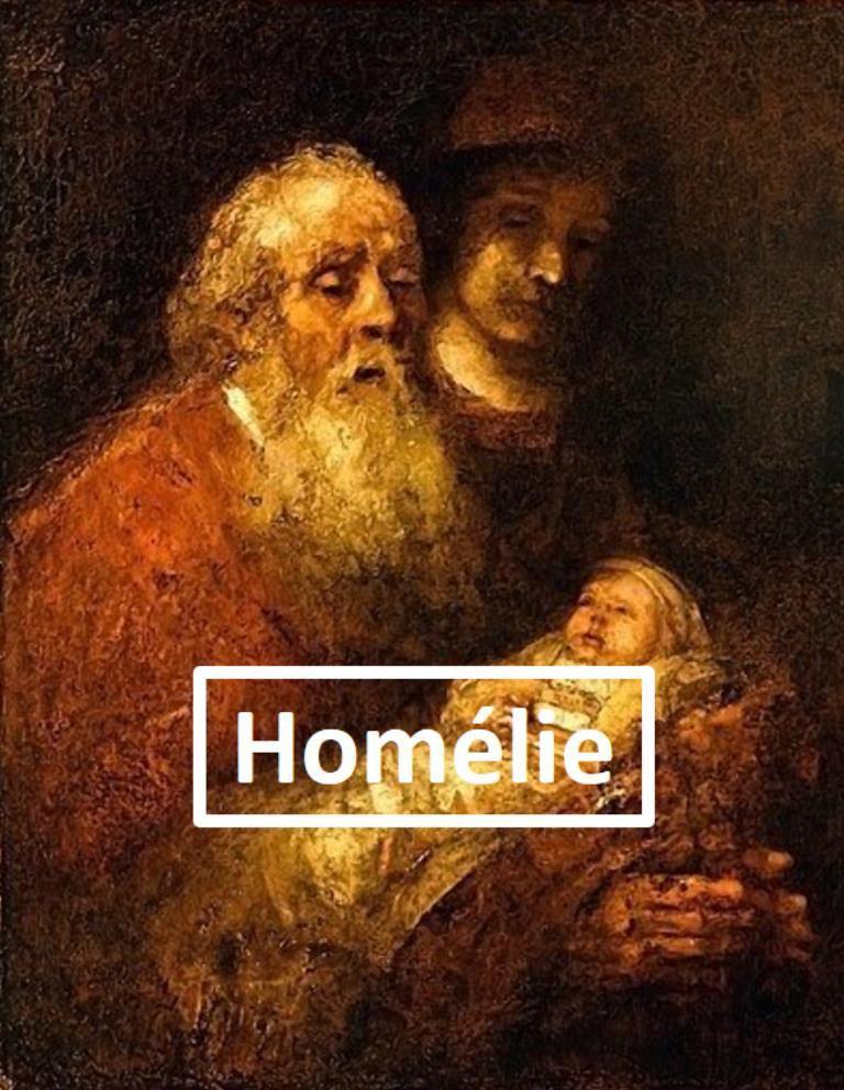 Homélie du Père Benoît Delabre pour la Chandeleur