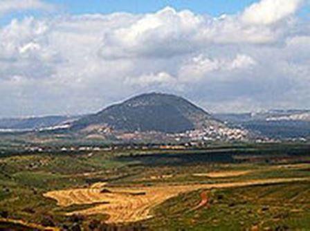Le mont Thabor.