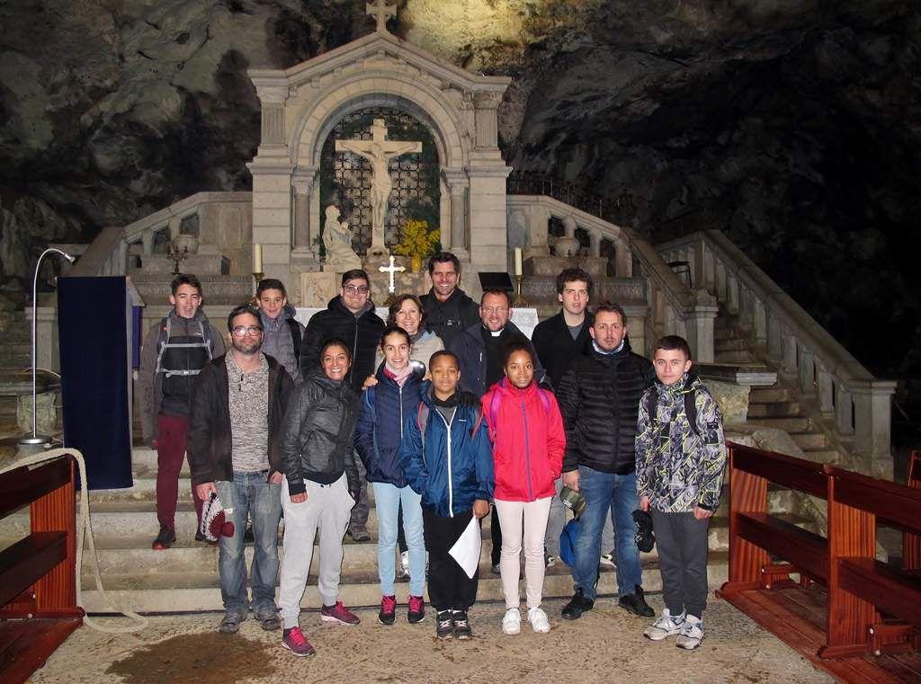 Avec le Père Gilles-Marie Lecomte.