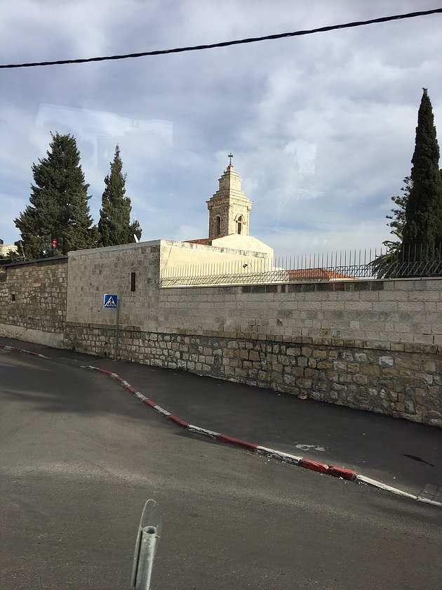 Mont Thabor, repas palestinien à Sébastiyeh, Puits de Jacob et arrivée à Jérusalem.
