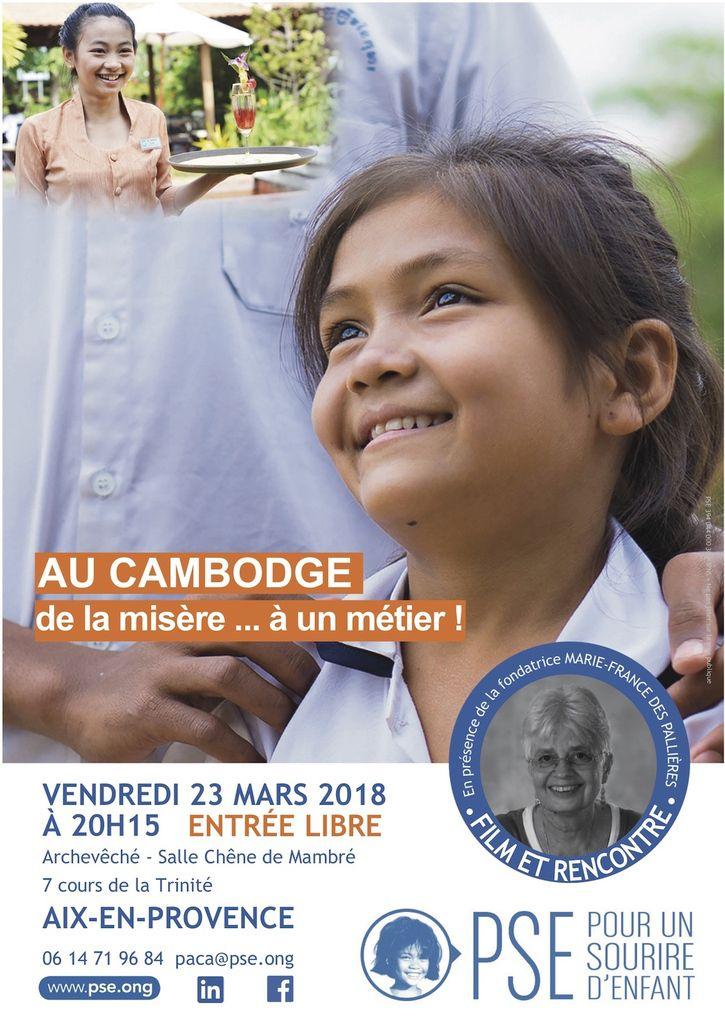 Film et rencontre. Vendredi 23 mars 2018 à  20h15 à Aix.