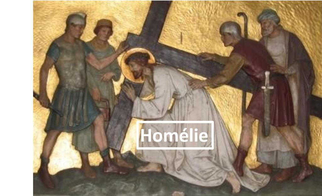Homélie du Père Bastien Romera pour le Dimanche des Rameaux. Très bel hommage à Arnaud Beltrame.