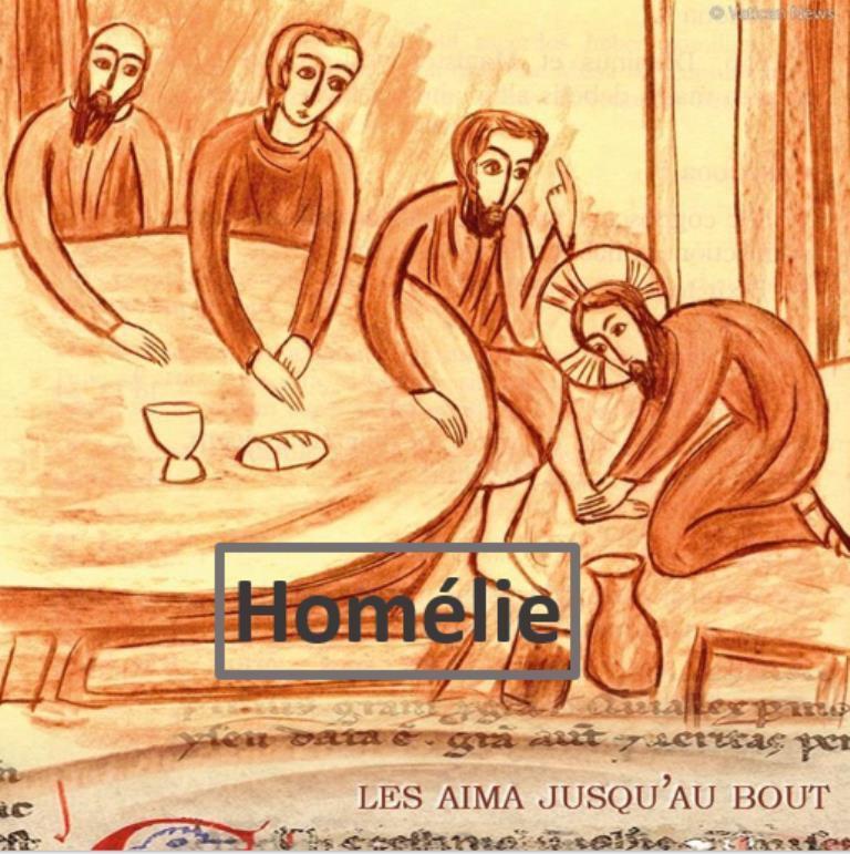 Homélie du Père Bastien Romera pour le Jeudi Saint, fête des prêtres