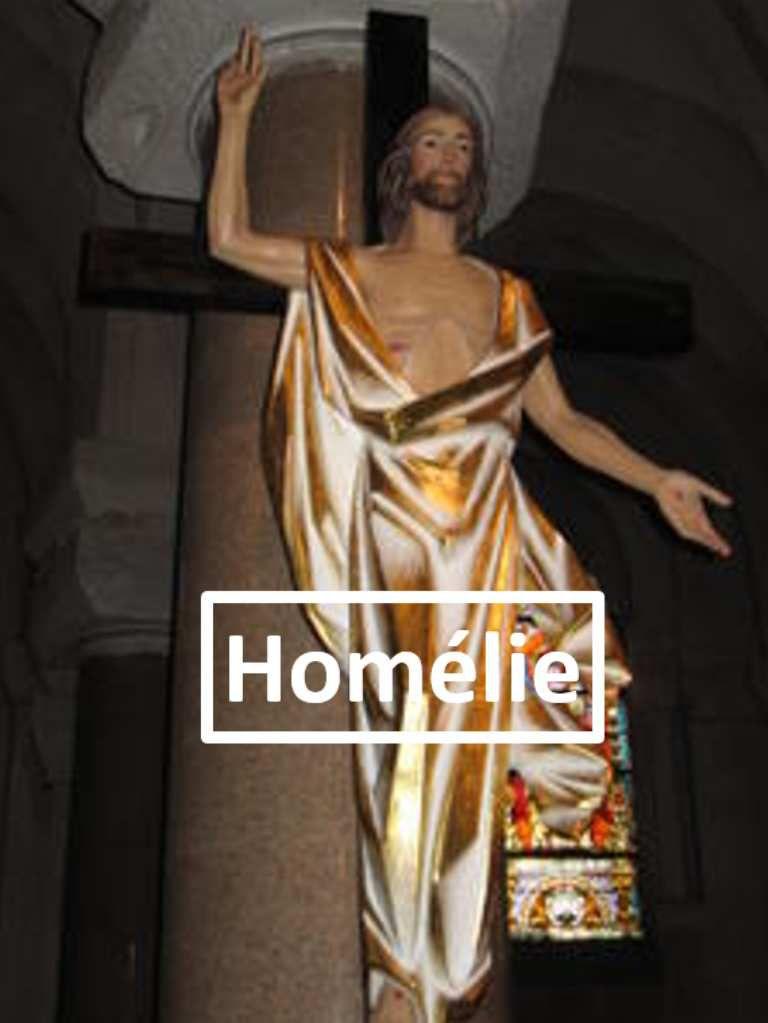 Homélie du Père Gilles-Marie Lecomte pour le Vendredi saint