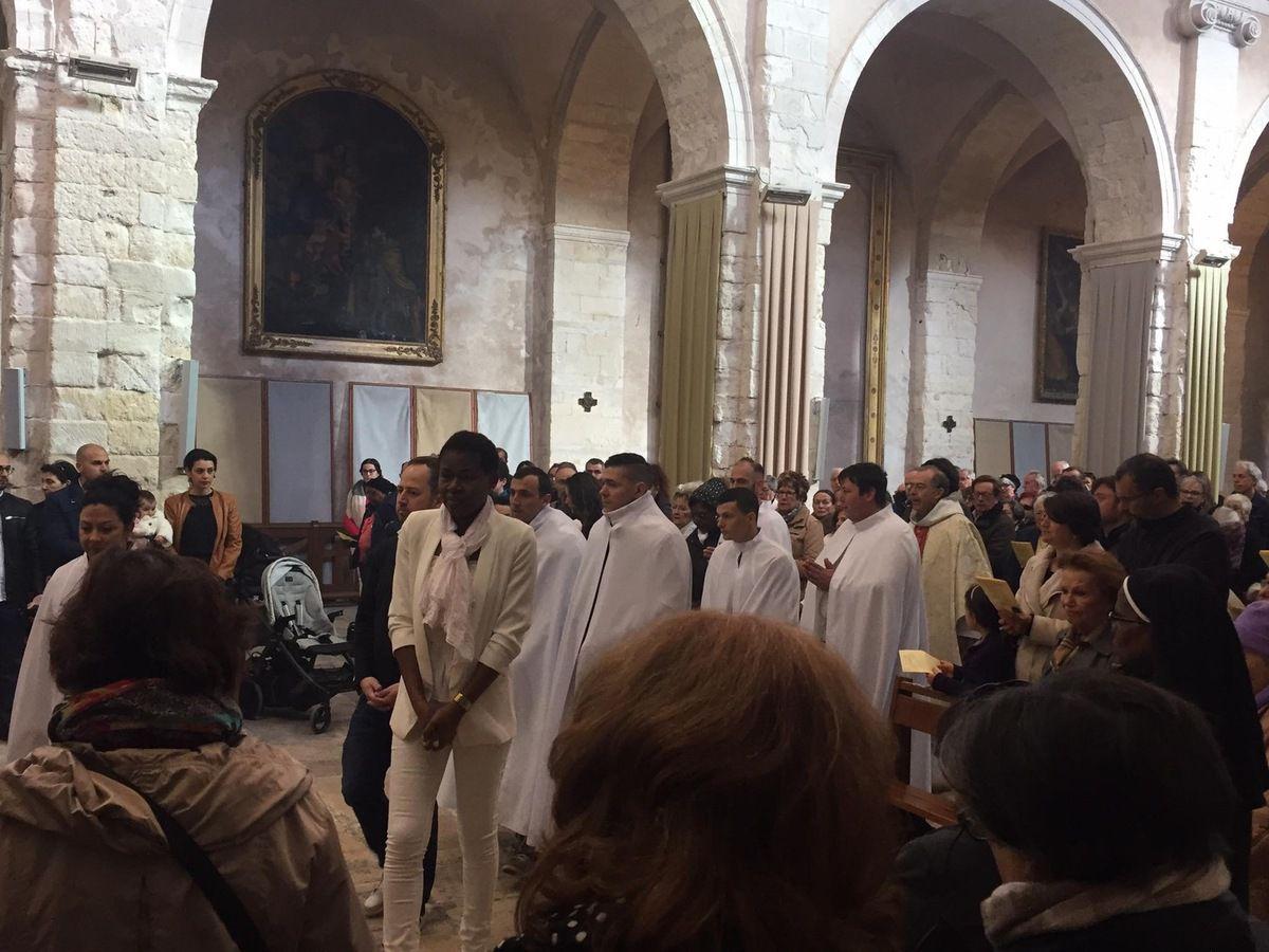 A Saint Genest avec le Père Benoît.
