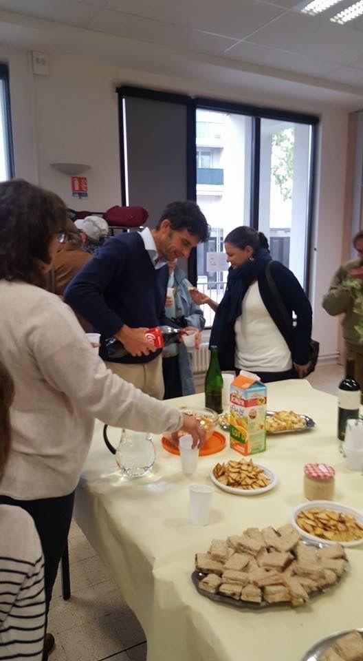 """D'autres moments de la rencontre  """"Ah la Folie """" , organisée par L'aumonerie catholique de l'hôpital de Martigues"""