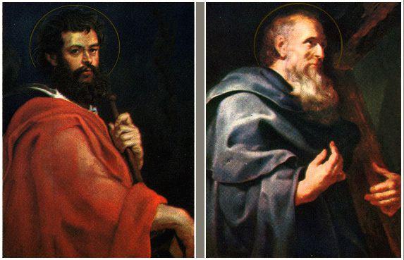 Saint Philippe et Saint Jacques.