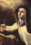 Sainte Thérèse d'Avila.