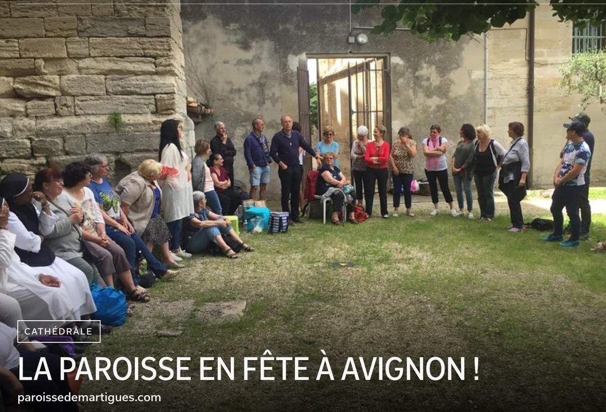 LA PAROISSE EN FÊTE À AVIGNON !
