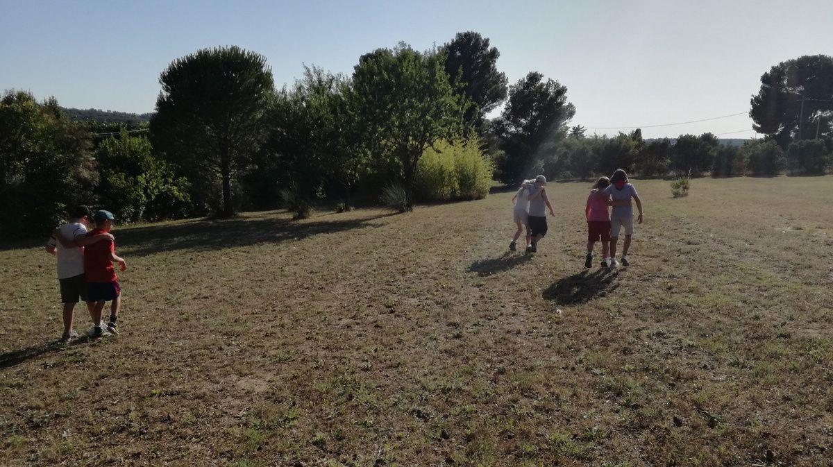Week-end campé du 30 juin - 1 er juillet avec les moussaillons à Saint Julien-les-Martigues.