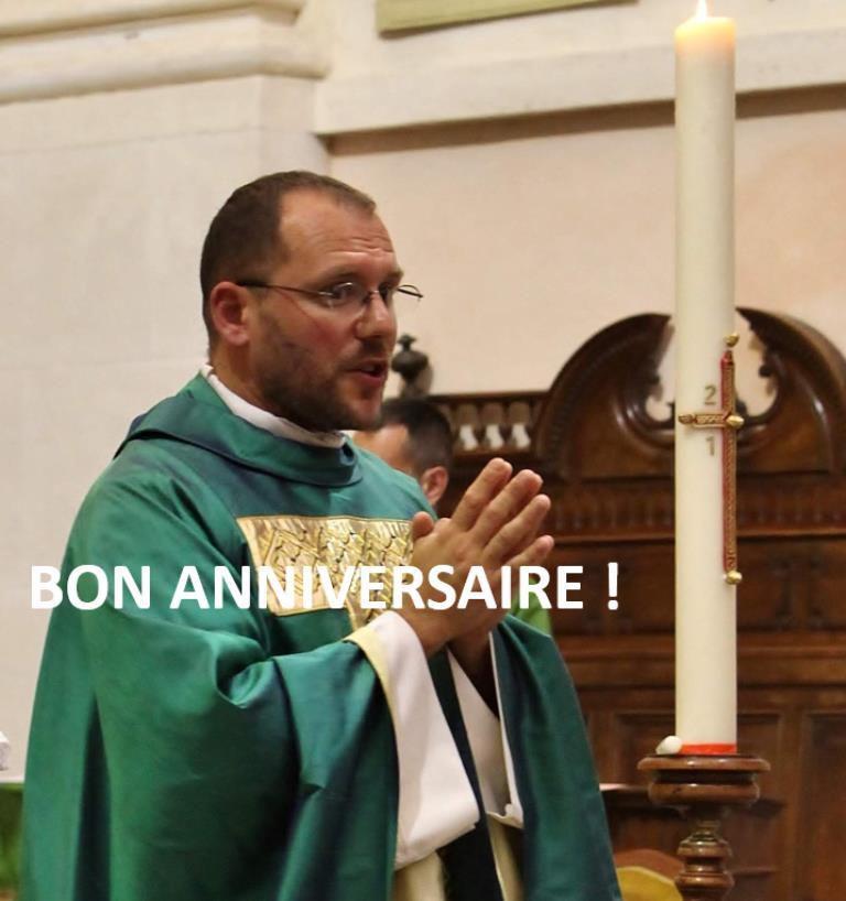 BON ANNIVERSAIRE PÈRE GILLES-MARIE !