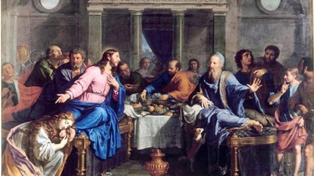 Philippe de Champaigne, le Repas chez Simon.