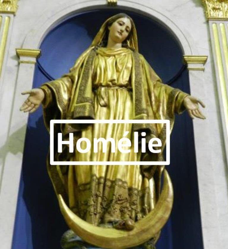Homélie du Père Sébastien Sambou pour la Solennité de l'Assomption