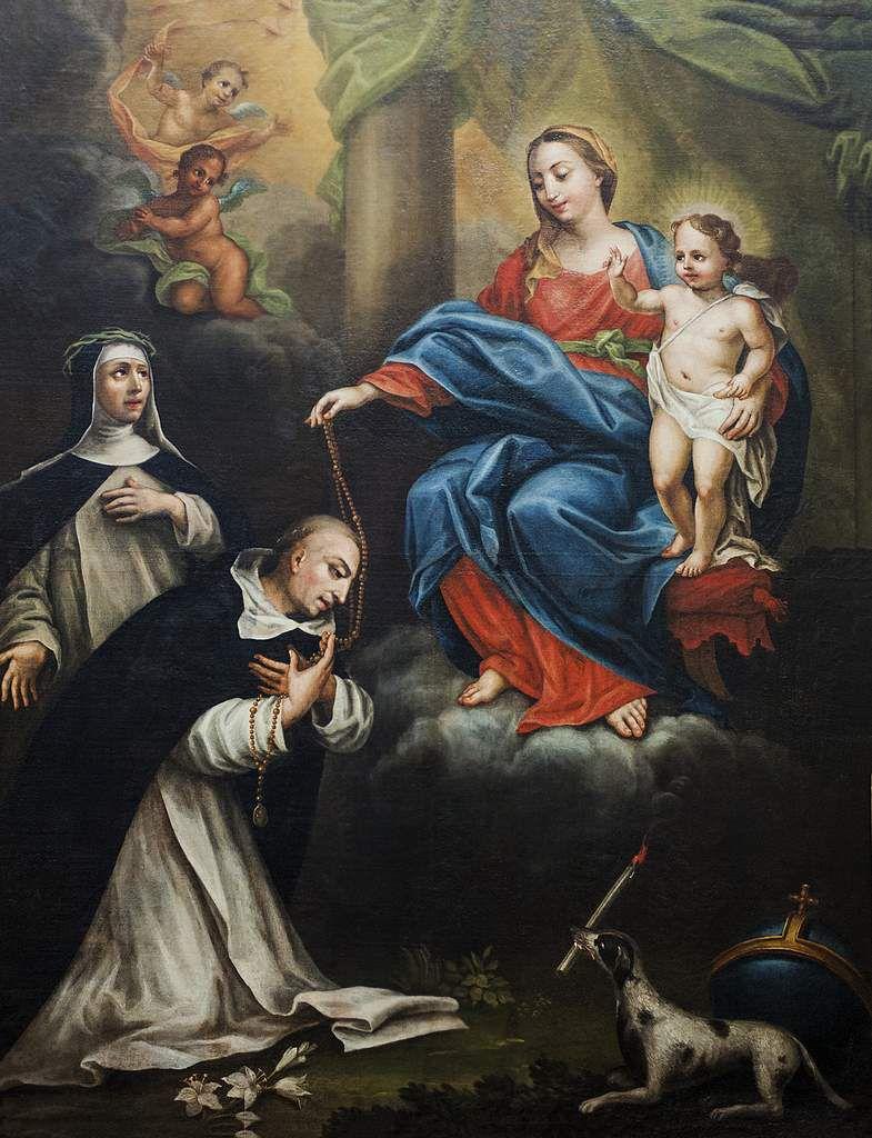 Notre Dame du Rosaire, église de La Madeleine.