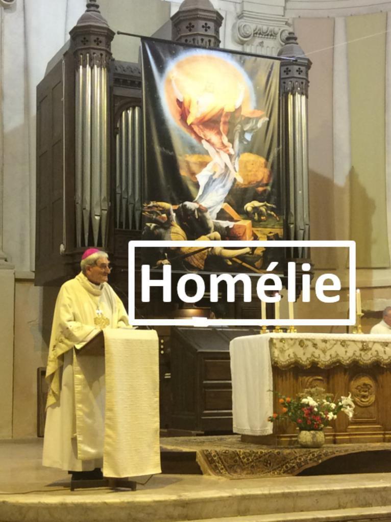 Homélie de Mgr Dufour pour le vingt huitième dimanche du Temps Ordinaire