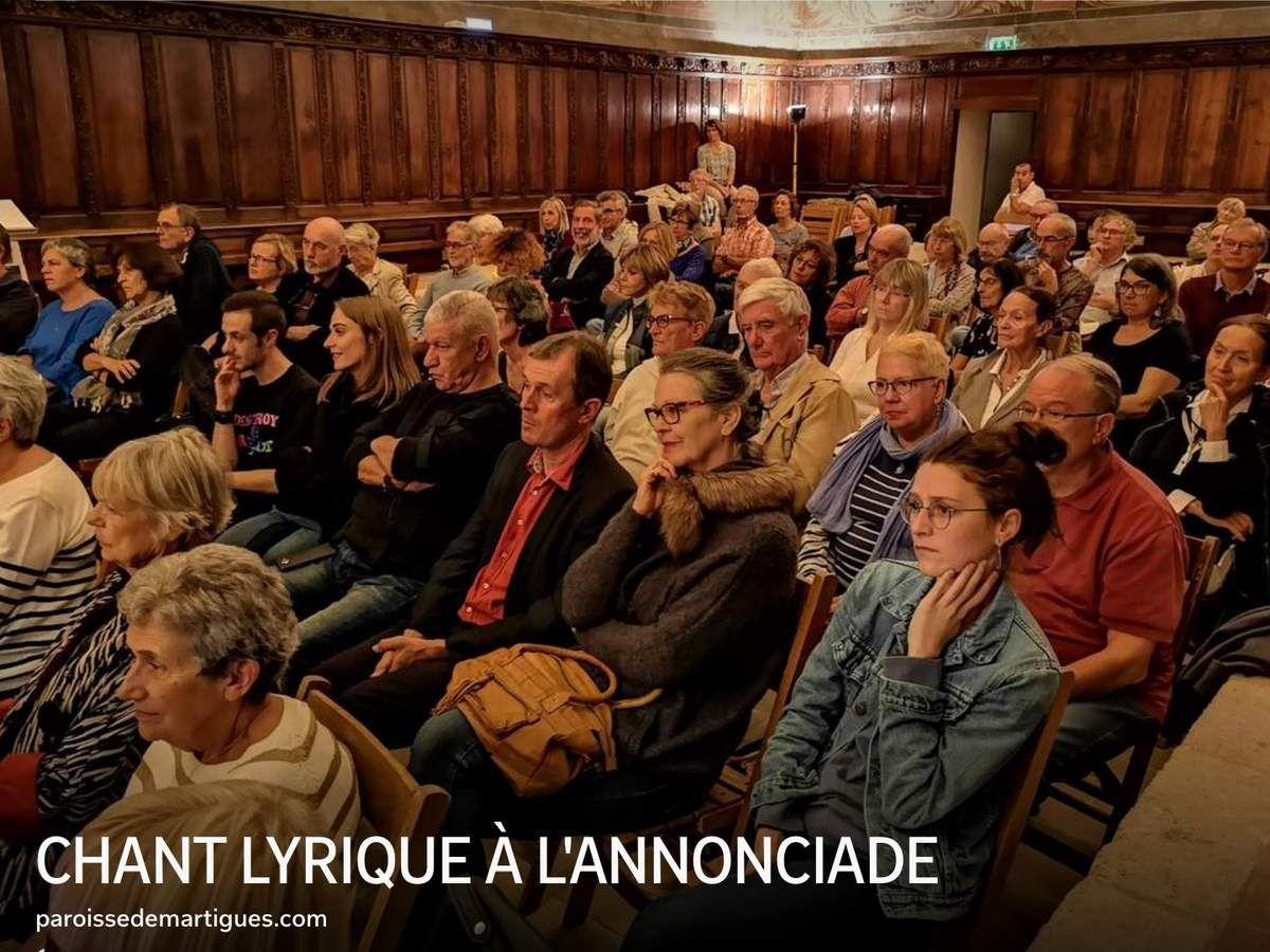 CHANT LYRIQUE À L'ANNONCIADE