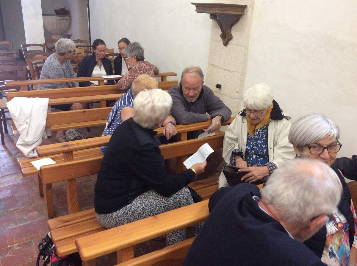 Lecture de la Parole de Dieu, méditation, témoignage personnel de Mgr Dufour, partage en petits groupes, dialogue direct avec notre évêque et Vêpres pour conclure cette journée placée sous le signe de la mission.