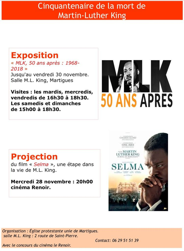 MARTIN-LUTHER KING : 50 ANS APRÈS